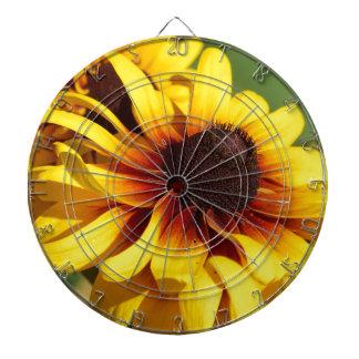 Yellow Coneflower Dart Boards