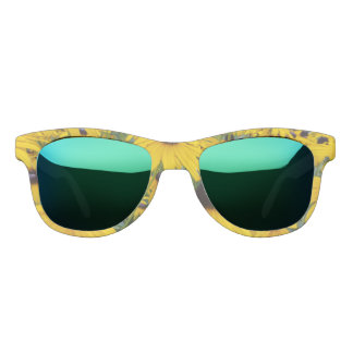 Yellow Coneflower frame glasses