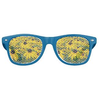 Yellow Coneflower retro glasses