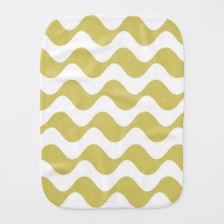 yellow copacabana burp cloth