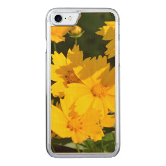 Yellow Coreopsis Carved iPhone 8/7 Case