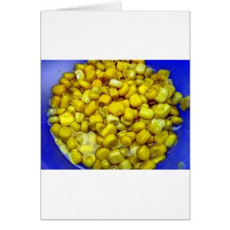 Yellow Corn Card