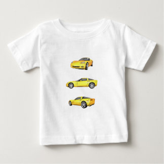Yellow Corvette: Baby T-Shirt