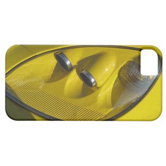 Yellow Corvette Z06 Headlight Close-up iPhone 5 Cases