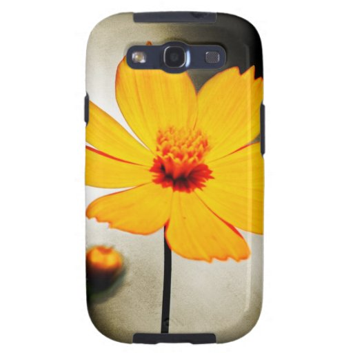 Yellow cosmos flower - Fine art Samsung cases Galaxy S3 Cover