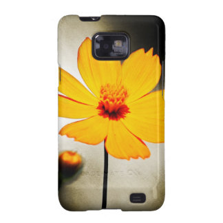 Yellow cosmos flower - Fine art Samsung cases Samsung Galaxy S2 Covers