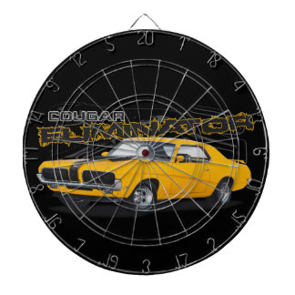 Yellow Cougar Dartboard