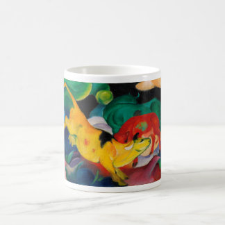Yellow Cow by Franz Marc Coffee Mug