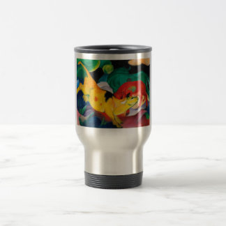 Yellow Cow by Franz Marc Travel Mug