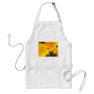 yellow crocus design standard apron
