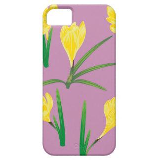 Yellow Crocus Flowers iPhone 5 Case