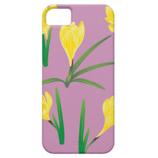 Yellow Crocus Flowers iPhone 5 Covers