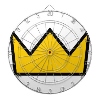 Yellow Crown Dartboard