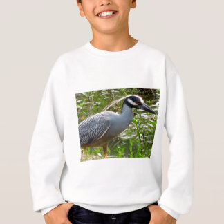 Yellow Crown Night Heron Sweatshirt