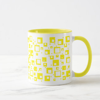 Yellow Cubes Mug