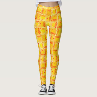 Yellow Cupcake♥ Leggings