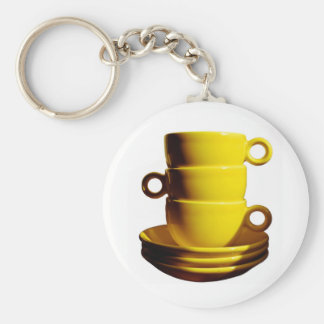Yellow Cups Keychain