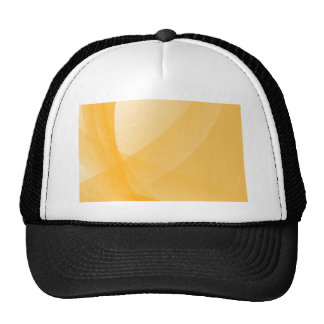 Yellow curves trucker hat
