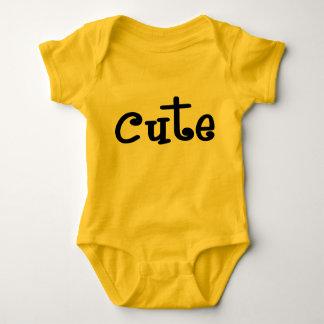 Yellow Cute Baby Romper