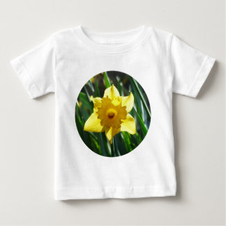 Yellow Daffodil 02.2_rd Baby T-Shirt