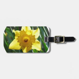 Yellow Daffodil 02.2_rd Bag Tag