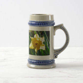 Yellow Daffodil 02.3. Beer Stein