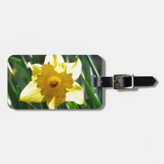 Yellow Daffodil 03.0.g Luggage Tag