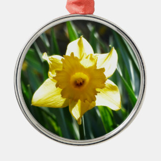 Yellow Daffodil 03.0.g Metal Ornament