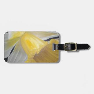 Yellow Daffodil Bag Tag