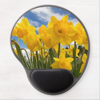 Yellow Daffodil Gel Mousepad