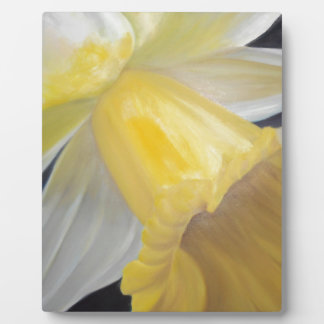 Yellow Daffodil Plaque