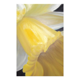 Yellow Daffodil Stationery