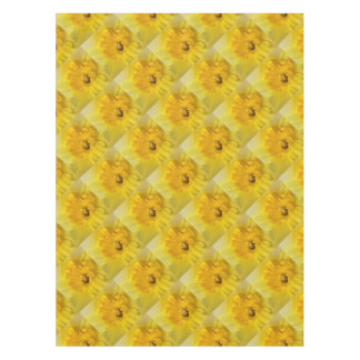 yellow daffodil tablecloth