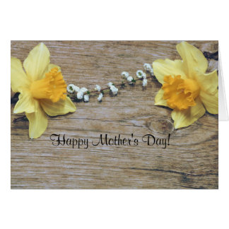 Yellow Daffodils Happy Mother's Day Card