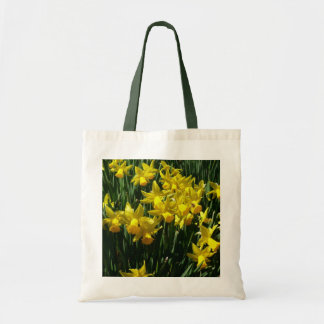 Yellow Daffodils I Cheery Spring Flowers Tote Bag