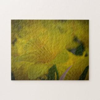 Yellow daffodils photo puzzle