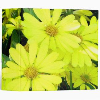 Yellow Daisies Binder