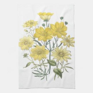 Yellow Daisies Wildflowers Towels