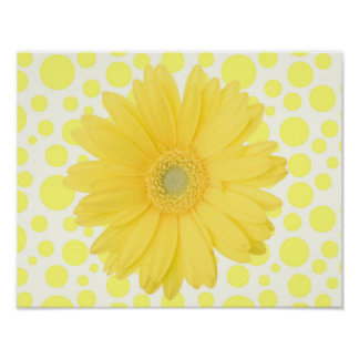 "Yellow Daisy 14 x 11"" Poster"