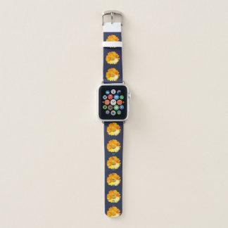 Yellow Daisy Apple Watch Band