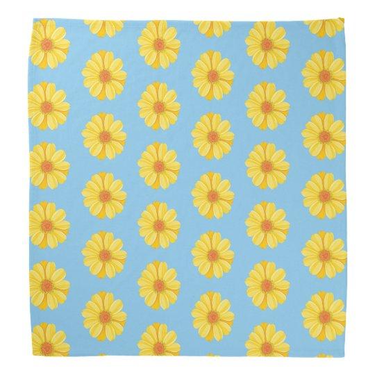 Yellow Daisy Bandana