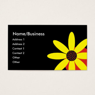 Yellow Daisy Business Card