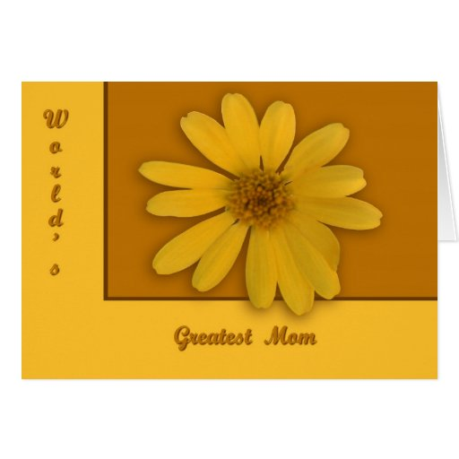 Yellow Daisy Greeting Cards