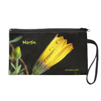 Yellow Daisy - Cell Phone Bag Wristlets
