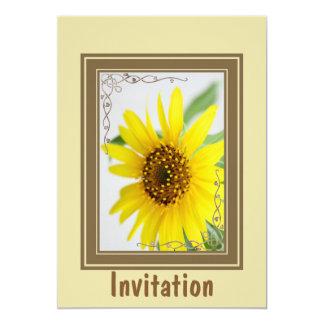 Yellow Daisy Flower Card