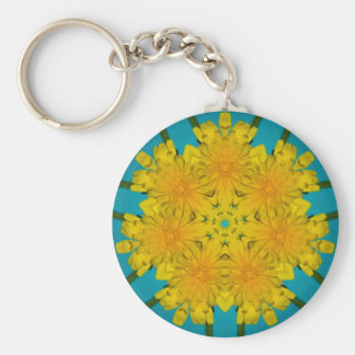 Yellow Dandelion Nov 2012 Keychain