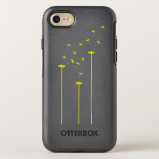 Yellow dandelion OtterBox symmetry iPhone 8/7 case