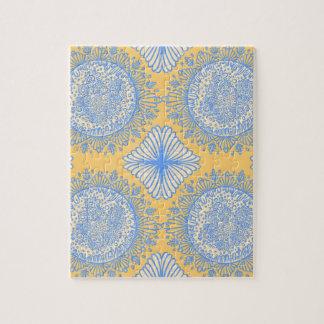 Yellow dawn jigsaw puzzle