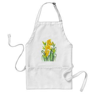Yellow Day Lillies Standard Apron