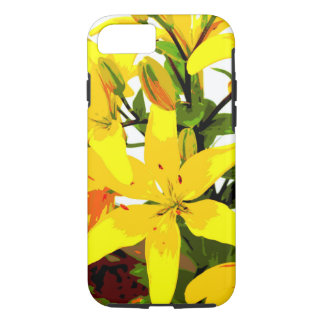 Yellow Day Lily - Flowers iPhone Case